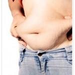 Los hombres tendemos a almacenar mucha grasa en el abdomen.