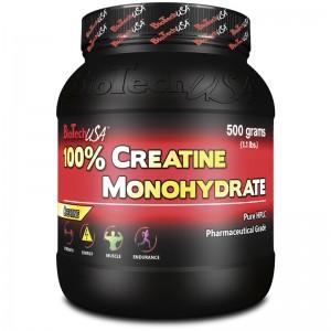 Imagen de un bote de creatina monohidratada o creatina monohidrato, la única que debes plantearte tomar
