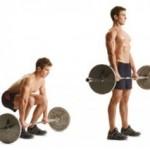Peso muerto, uno de los ejercicios básicos más importantes.