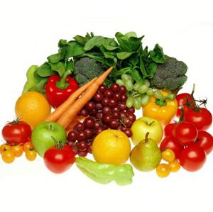 Las frutas y verduras son una excelente opción para bajar de peso