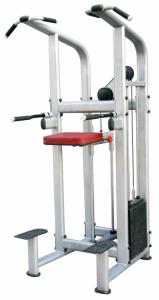 Máquina para hacer dominadas con peso