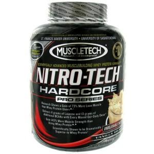 Nitrotech, la mejor proteína de suero del mercado.