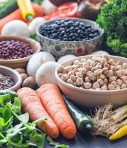 Verduras, hortalizas y legumbres para mi son los alimentos más saciantes que hay